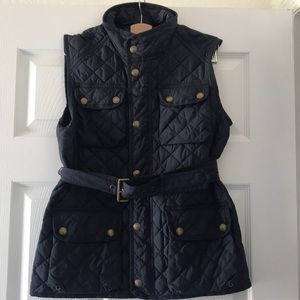 Polo Navy vest jacket